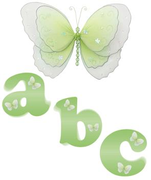 Green Butterfly Alphabet Wall Letter Name Stickers-girls, nursery, room, decor, decorations, wall letters, mural stickers, alphabet letters, wall stickers, butterfly mural, baby, nursery, wall, stickers, murals, letters, bedroom, girls, room, name, sticker,decorative,butterfly,wall,letters,wallies,alphabet,stickers,nursery,name,butterfly,butterflies,letter,butterflys,fat heads,nursery,room,bedroom,girls,decorations,decor,decoration,mural,sticker,letter,names,butterfly stickers,butterfly wallies,butterfly letters,graphic,removable