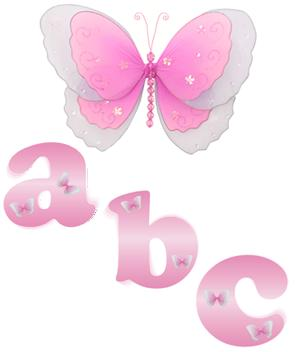 Pink Butterfly Alphabet Wall Letter Name Stickers-girls, nursery, room, decor, decorations, wall letters, mural stickers, alphabet letters, wall stickers, butterfly mural, baby, nursery, wall, stickers, murals, letters, bedroom, girls, room, name, sticker,letters, wall, name, art, hanging, letter, nursery, bedroom, room, girls, stickers, sticker, butterflies, butterfly, butterflys, nylon, mesh, sheer, decor, decoration, decorations, hanging, ceiling, wedding, bedroom, room, nursery